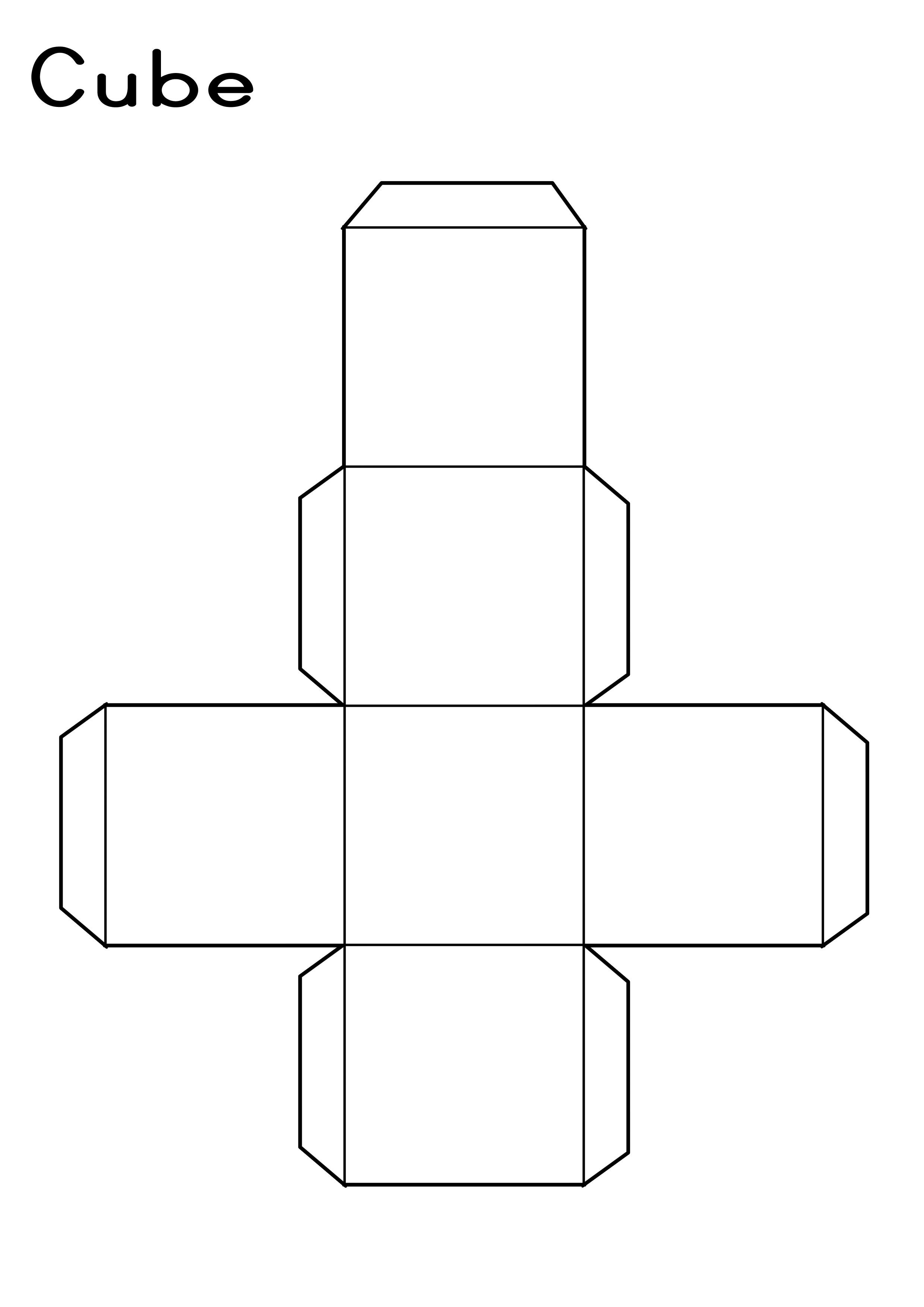 Cube Printable
