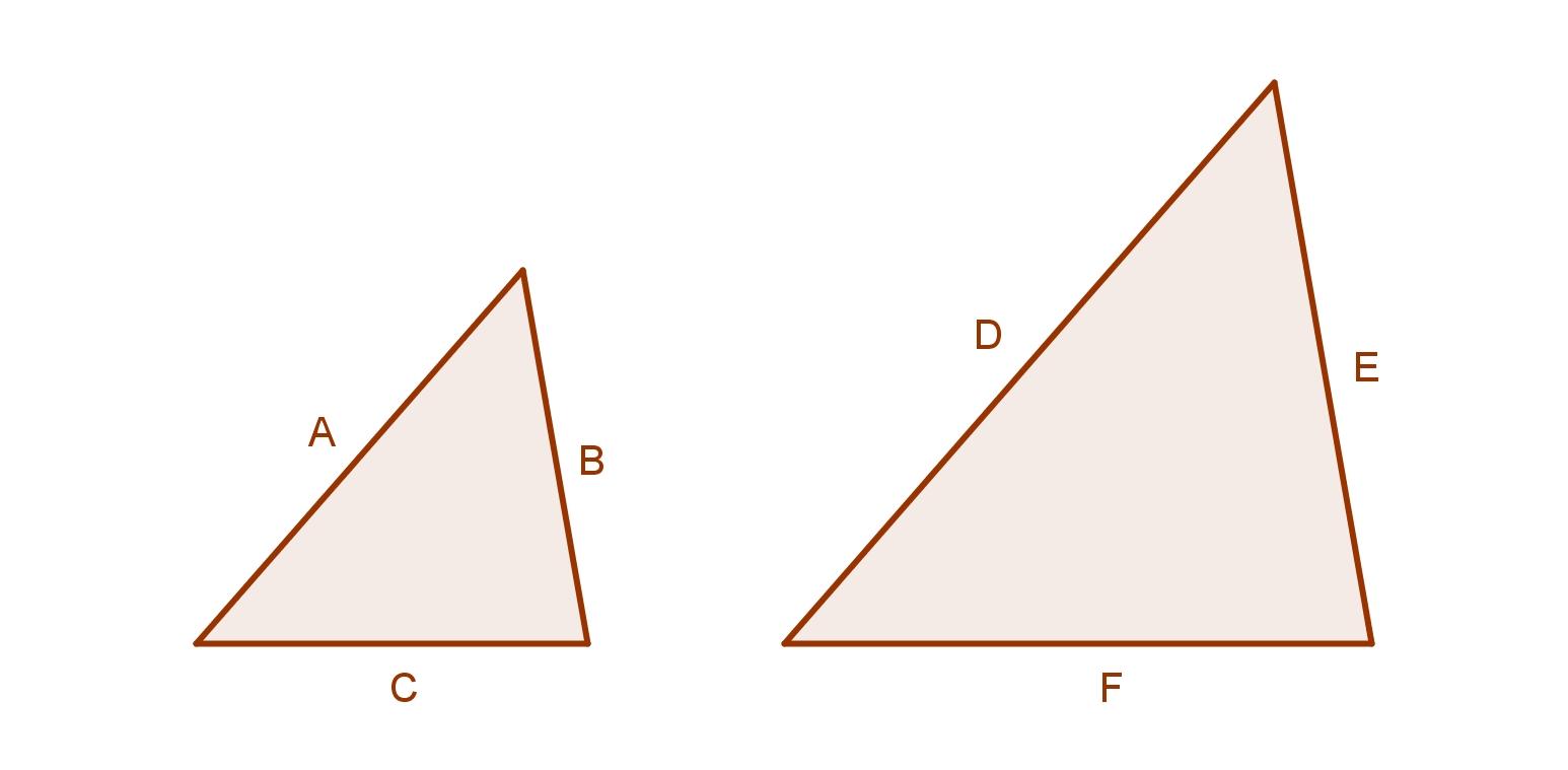 Corresponding Sides Triangles Geometry Ima...