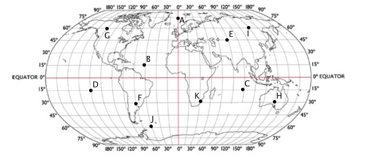 Lines in the world mathspace worked examples question 1 the world map below gumiabroncs Gallery