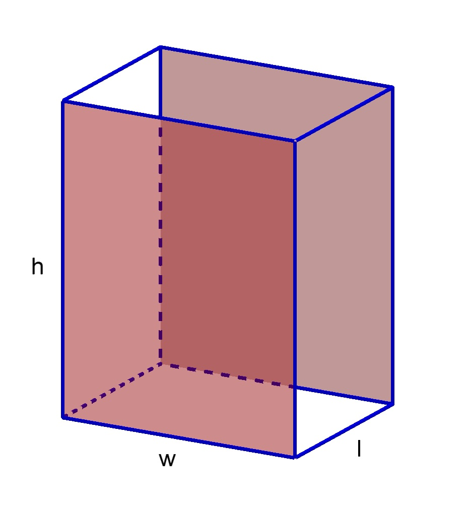 area and prism A prism with rectangular bases is a rectangular prism rectangular prism is a 3-dimensional solid object which has six faces that are rectangles.