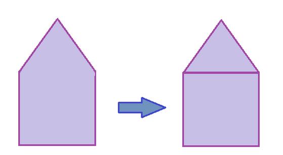 perimeter of a triangle formula mathspace composite shapes