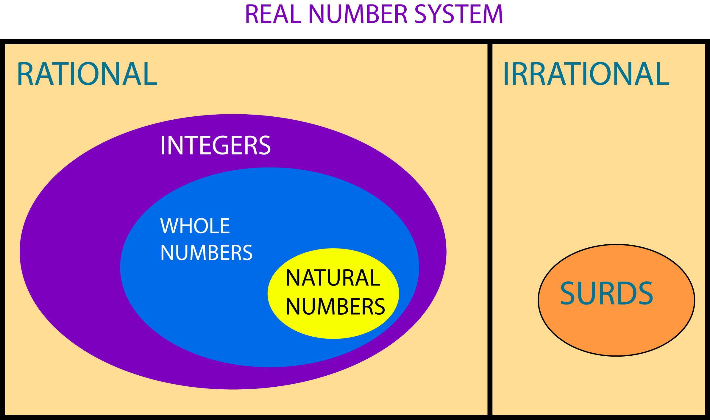 real number All numbers on the number line are known as real numbers that includes positives, negatives, integers, rational numbers, whole numbers, square roots, cube roots, $\pi$ etc.